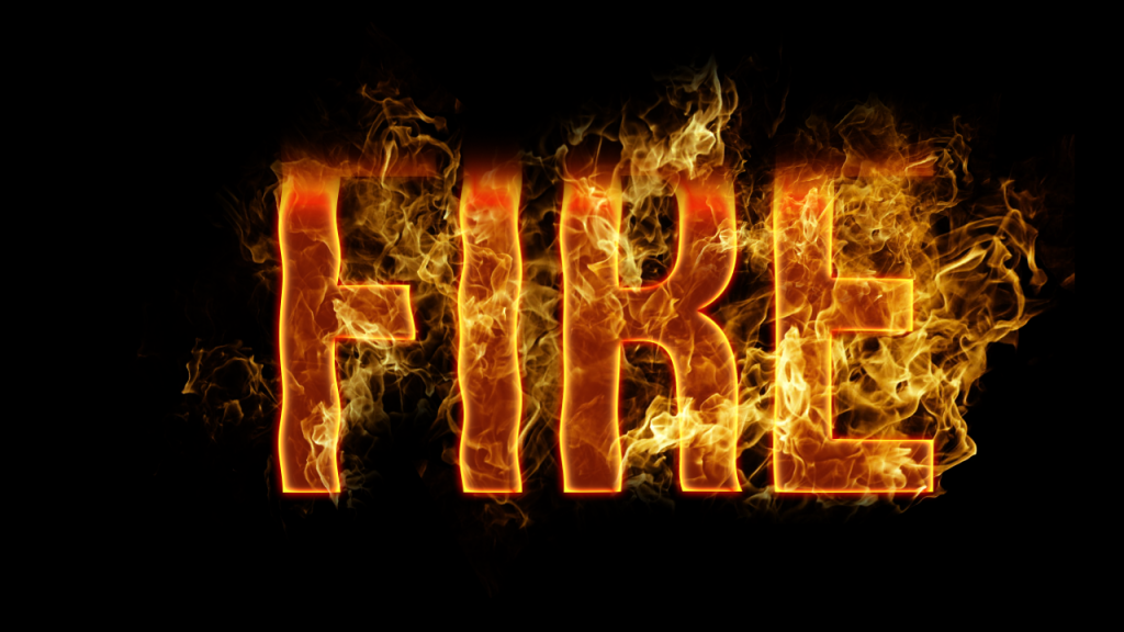 Fire Text Effect In Photoshop
