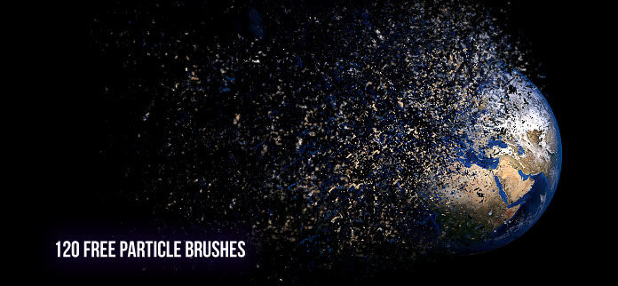 120 Particle Photoshop Brushes - Free Download