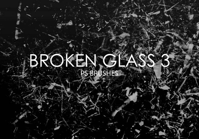 Broken Particle Glass Brushes