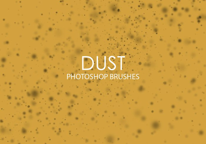 Dust Particles Photoshop Brush set