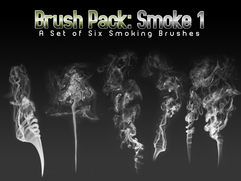 Smoke Brushes Pack 1