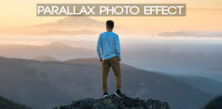 Parallax-Photo-effect
