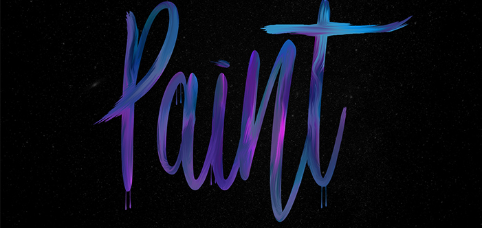 How to: Create a Paint Text Effect in Photoshop » Photoshop Tutorials